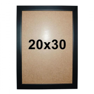Moldura Quadro Certificado Diploma Poster Vidro 20×30